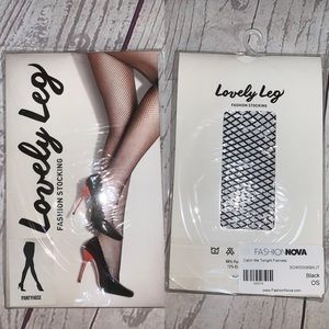 "Fashion nova ""catch me tonight"" fishnets new"
